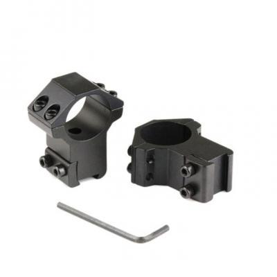 Collier de montage Diam 25.4mm / Rail 11mm / Haut à la base 12mm - BlackOpe