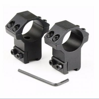 Collier de montage Diam 25.4mm / Rail 11mm / Haut à la base 21.3mm - BlackOpe