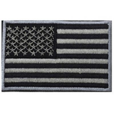 Patch drapeau mod4 - Gris/Noir - BlackOpe