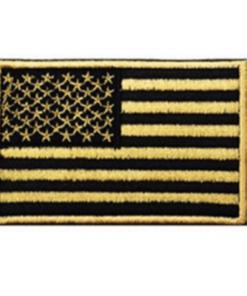 Patch drapeau mod4 - Or/noir - BlackOpe