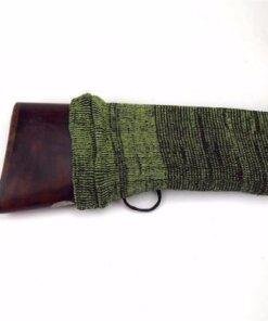 Chaussette pour arme longue – vert Housse de fusil