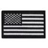 Patch drapeau mod4 – Noir/blanc Écussons & patchs