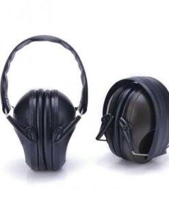Casque anti bruit – Noir Casques de tir