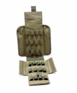 Sacoche pour cartouche - Calibre 12 - Vert - BlackOpe