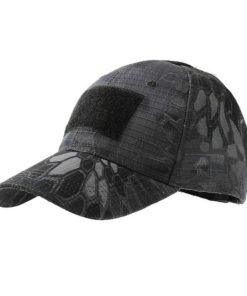 Casquette de camouflage – Black Python lines Casquettes & Chapeaux