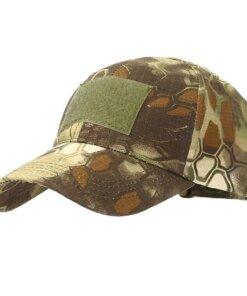 Casquette de camouflage – Jungle Python lines Casquettes & Chapeaux