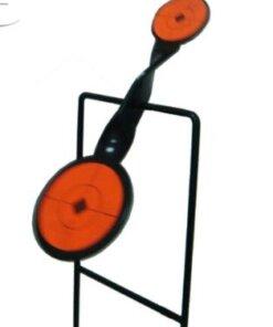 Cibles métallique Gong autoreset pour gros calibre Ciblerie