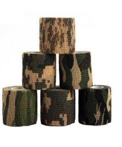 6 bandes de camouflage 5cmx4.5m Camouflage Arme