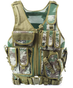 Gilet tactique police /arme/swat – Digital camouflage Equipements