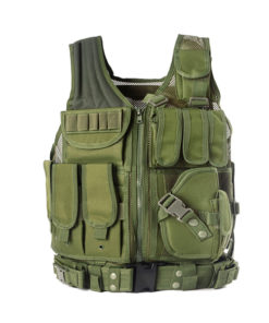 Gilet tactique police /arme/swat – OD green Equipements