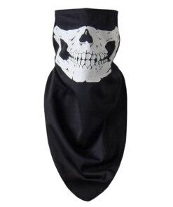 Câche cou – Tête de mort – Black Cagoules & Caches-cou