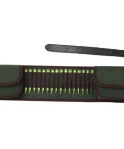 CARTOUCHIERE ceinture – 16 cartouches Calibre 308win Chasse Turbon Mod8.1 Cartouchières Ceinture de Chasse