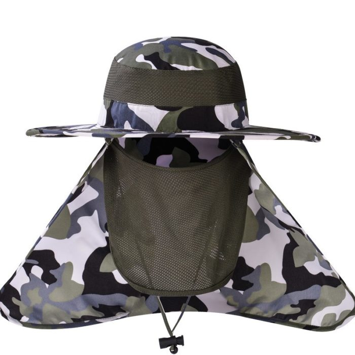 Chapeau imperméable de pêche – Army green Casquettes & Chapeaux