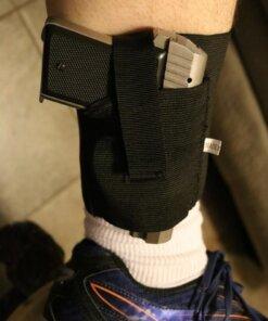 Holster tactique pour cheville – Arme de poing Accessoires