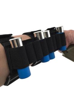 CARTOUCHIERE pour avant bras 8 cartouches – Calibre 12 Tactique Accessoires