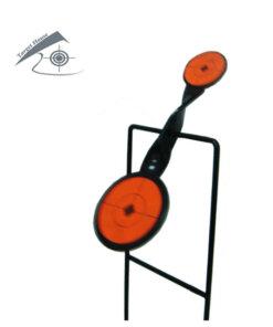 Cibles métallique Gong autoreset Air comprimé & 22lr Ciblerie