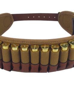CARTOUCHIERE ceinture – 25 cartouches Calibre 20 Chasse Turbon Mod5.1 Cartouchières Ceinture de Chasse