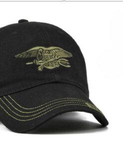 Casquette militaire – NOIR Casquettes & Chapeaux