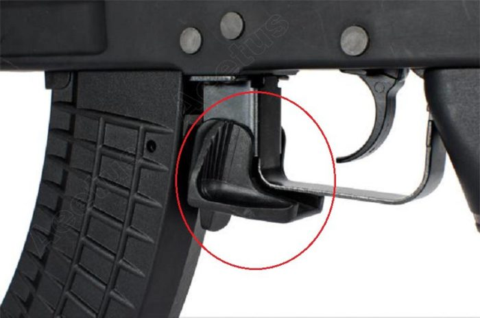 Elargisseur éjecteur de chargeur pour Ak / AKM Accessoires