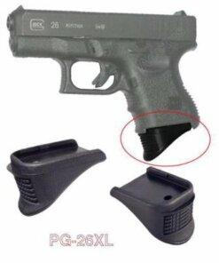Grip Extension Arme de poing – modles Glock 26,27, 33 et 39 Accessoires