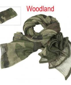 Echarpe de camouflage - Woodland - BlackOpe