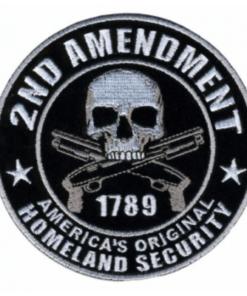 Patch – 2nd amendment – 1789 Écussons & patchs