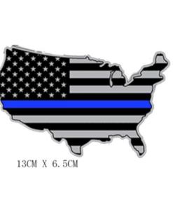 Patch – 2nd amendment – Drapeau Américain – Punisher – Support police Flag Écussons & patchs