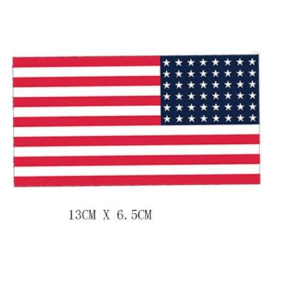 Patch - 2nd amendment - Drapeau Américain - Punisher - USA Flag C - BlackOpe