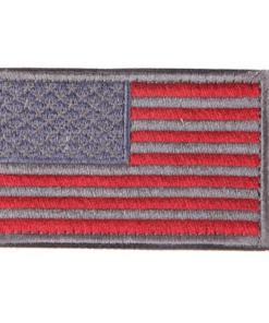Patch drapeau mod4 - Gris/rouge - BlackOpe