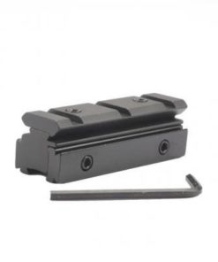Adaptateur Convertisseur 11mm à 20mm Weaver picatinny - BlackOpe