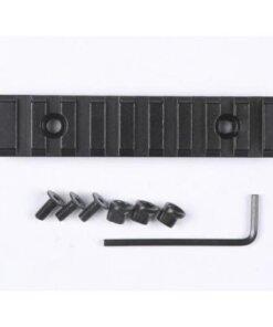 Rail picatinny / Weaver 102mm - BlackOpe