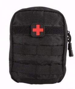 Trousse de premiers secours Militaire - Noir - BlackOpe