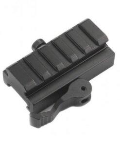 Rail Picatinny 20mm – attache rapide Montages Optiques