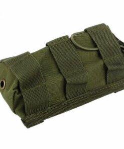 Sacoche Porte chargeur armes longue Tactique- Molle – mod10 VERT Porte chargeur