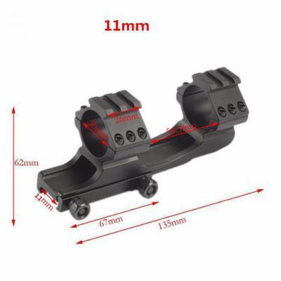Montage monobloc Tactique 11mm pour lunette Montage Monobloc