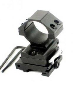 Montage pour magnifier déportable 30mm - Rail Picatinny - BlackOpe