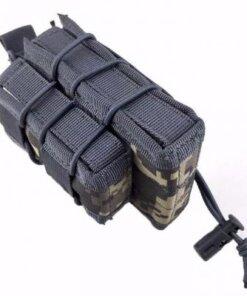 Sacoche Porte chargeur armes longue & arme de poing Tactique- Molle mod1 ACU Porte chargeur