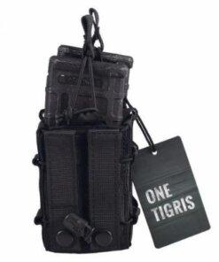 Sacoche Porte chargeur armes longue Tactique- Molle – mod1- Noir Porte chargeur