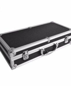 Mallette aluminium – Noir Accessoires
