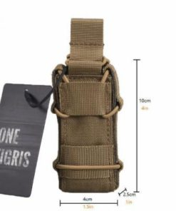 Sacoche Porte chargeur armes de poing Tactique- Molle – mod2 TAN Porte chargeur