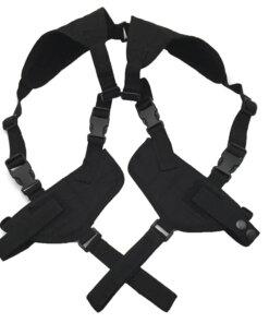 Double holster d'épaule – Arme de poings – Noir Holster armes de poing