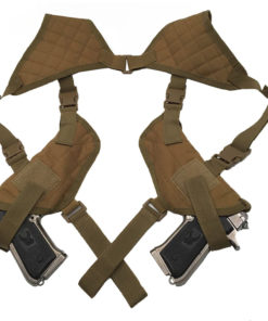 Double holster d'épaule – Arme de poings – Coyote Holster armes de poing