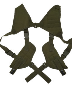 Double holster d'épaule – Arme de poings – Army Green Holster armes de poing