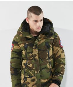 Blouson Parka Grand froid – Militaire et chasse – Army Green Camouflage Blouson