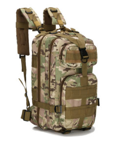 Sac à dos militaire 20/35L CAMOUFLAGE Bagagerie
