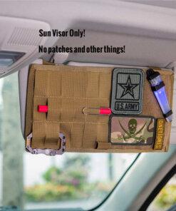 Panneau tactique pour pare-soleil de voiture- Onetigris – TAN Voiture