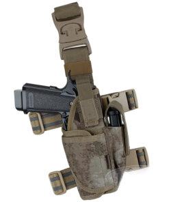 Holster Arme de poing – Tactique Militaire – EG – mod1 – Gaucher Bagagerie