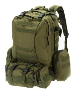 Sac à Dos Militaire 50L VERT Bagagerie