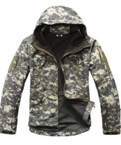 Veste Tactique Militaire – ACU Camouflage Blouson & Veste