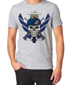 Tee-shirt – USAF – Gris Equipements